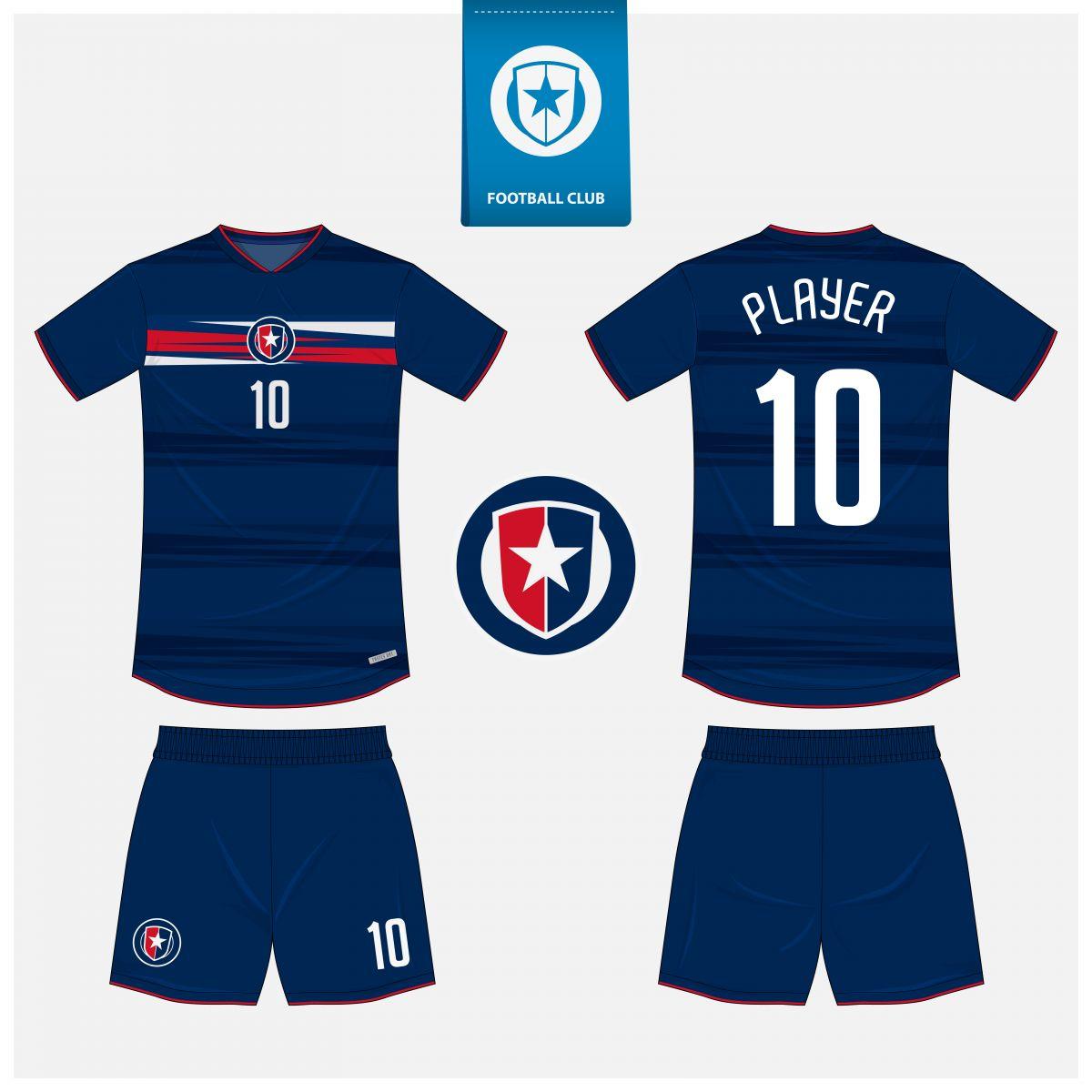 Áo bóng đá thiết kế theo yêu cầu mã số 0002