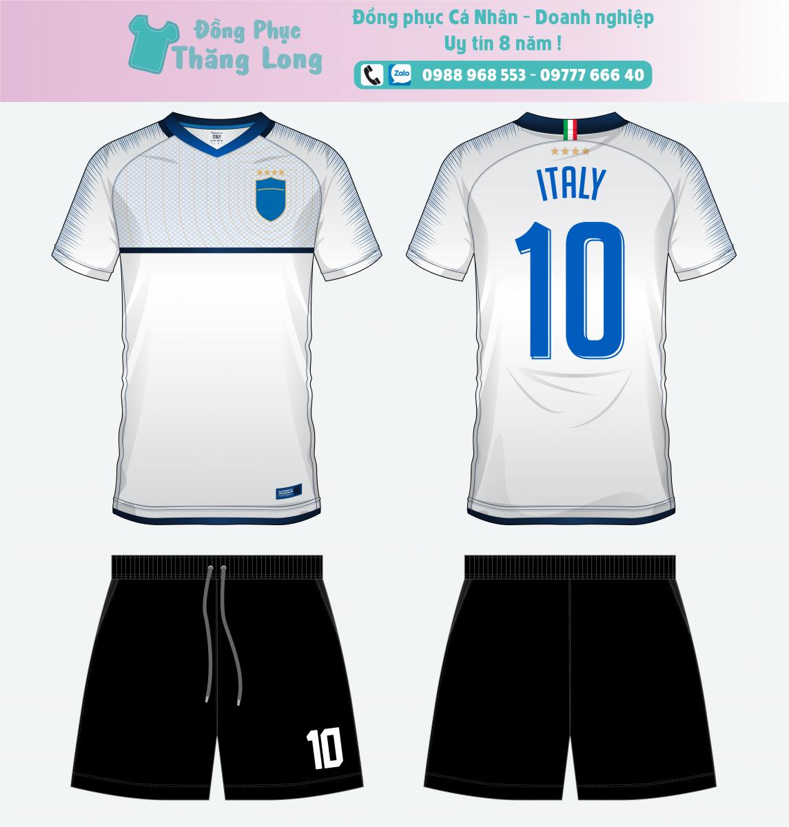 Áo bóng đá thiết kế theo yêu cầu mã số 0009