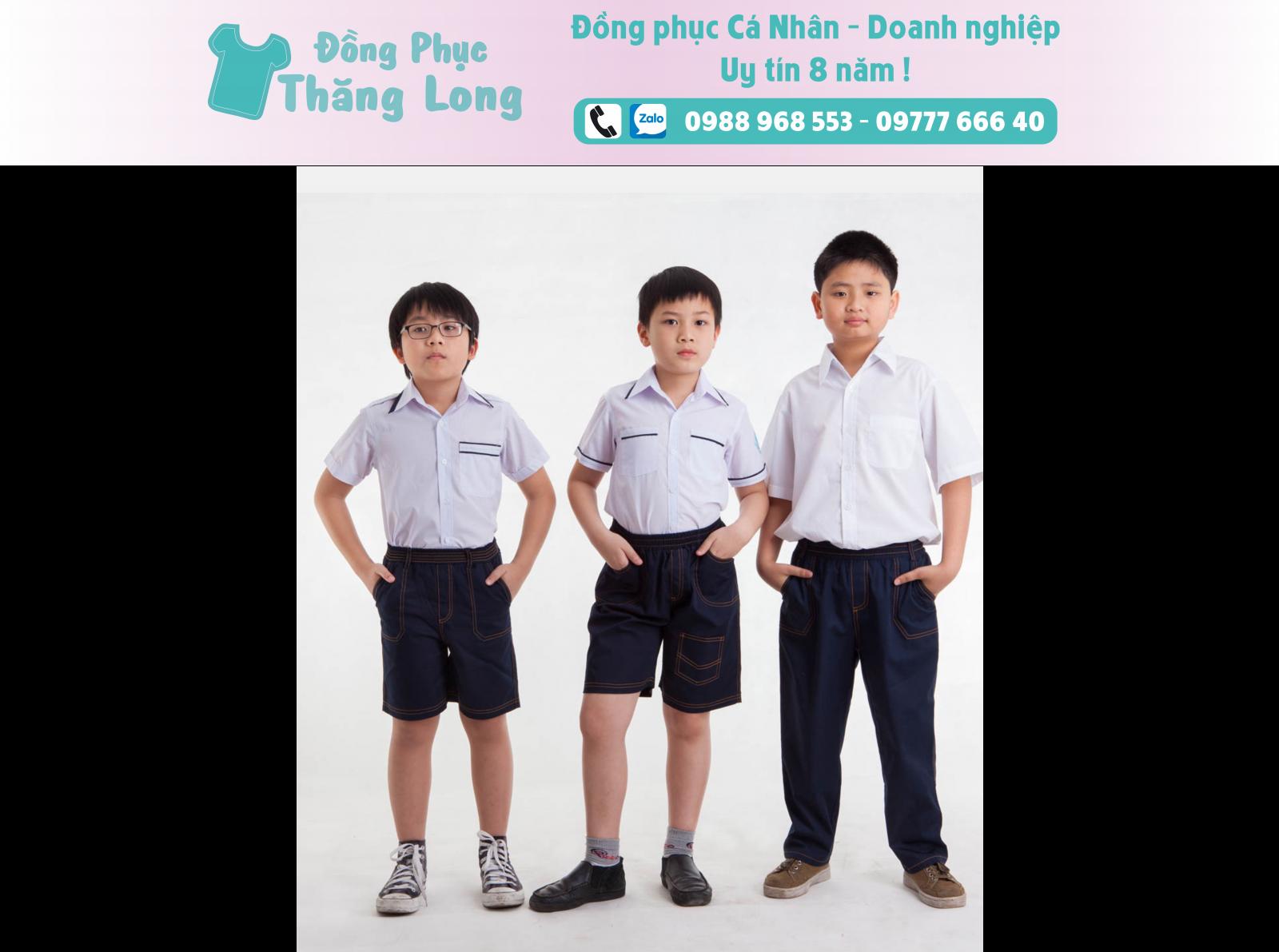 Đồng phục học sinh mẫu 004