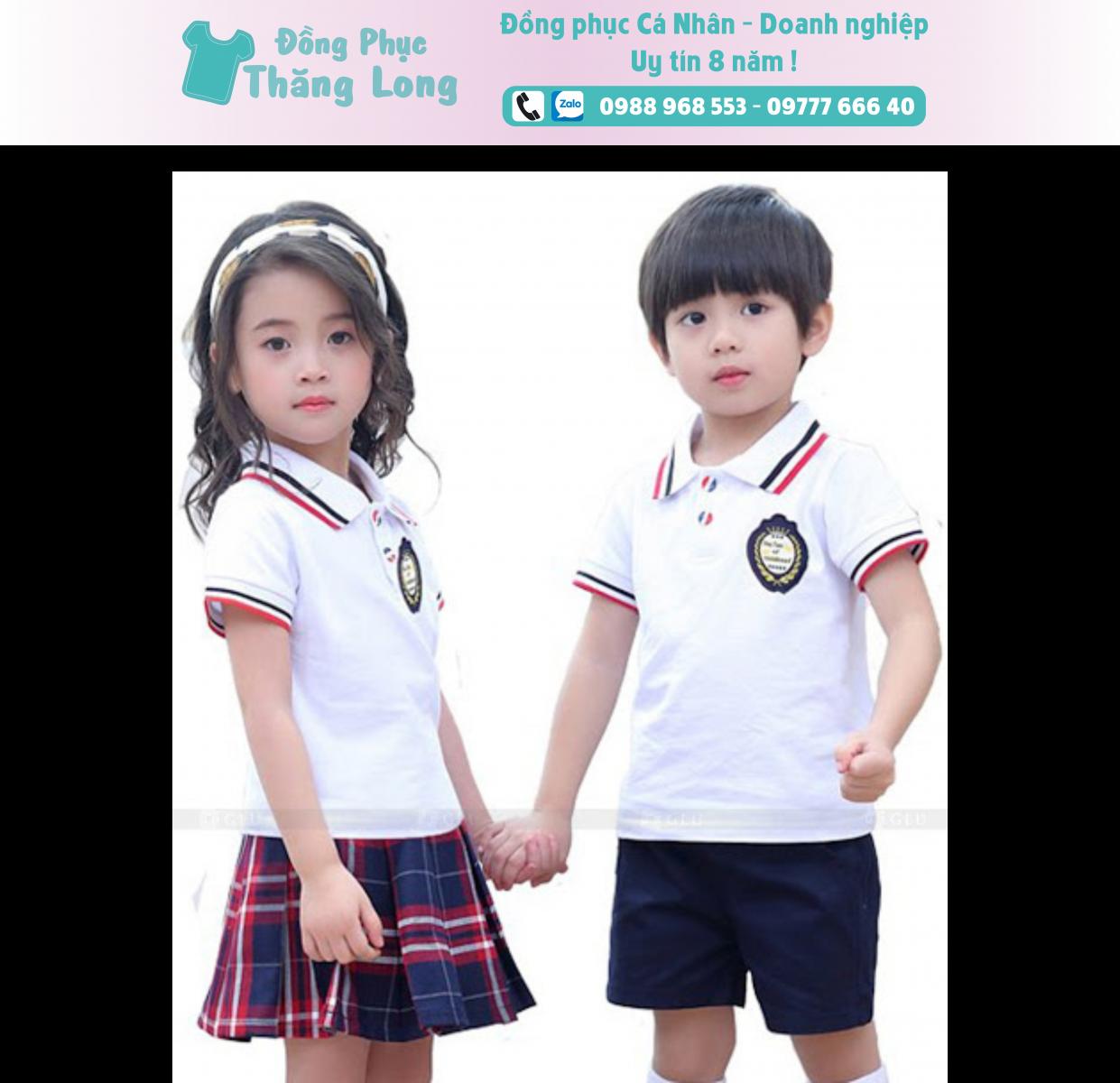 Đồng phục học sinh mẫu 012