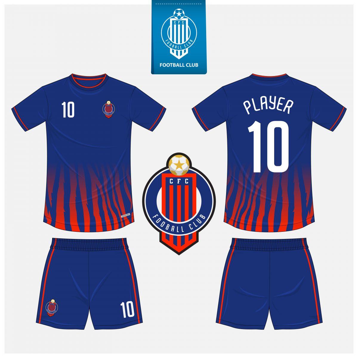 Áo bóng đá thiết kế theo yêu cầu mã số 0004
