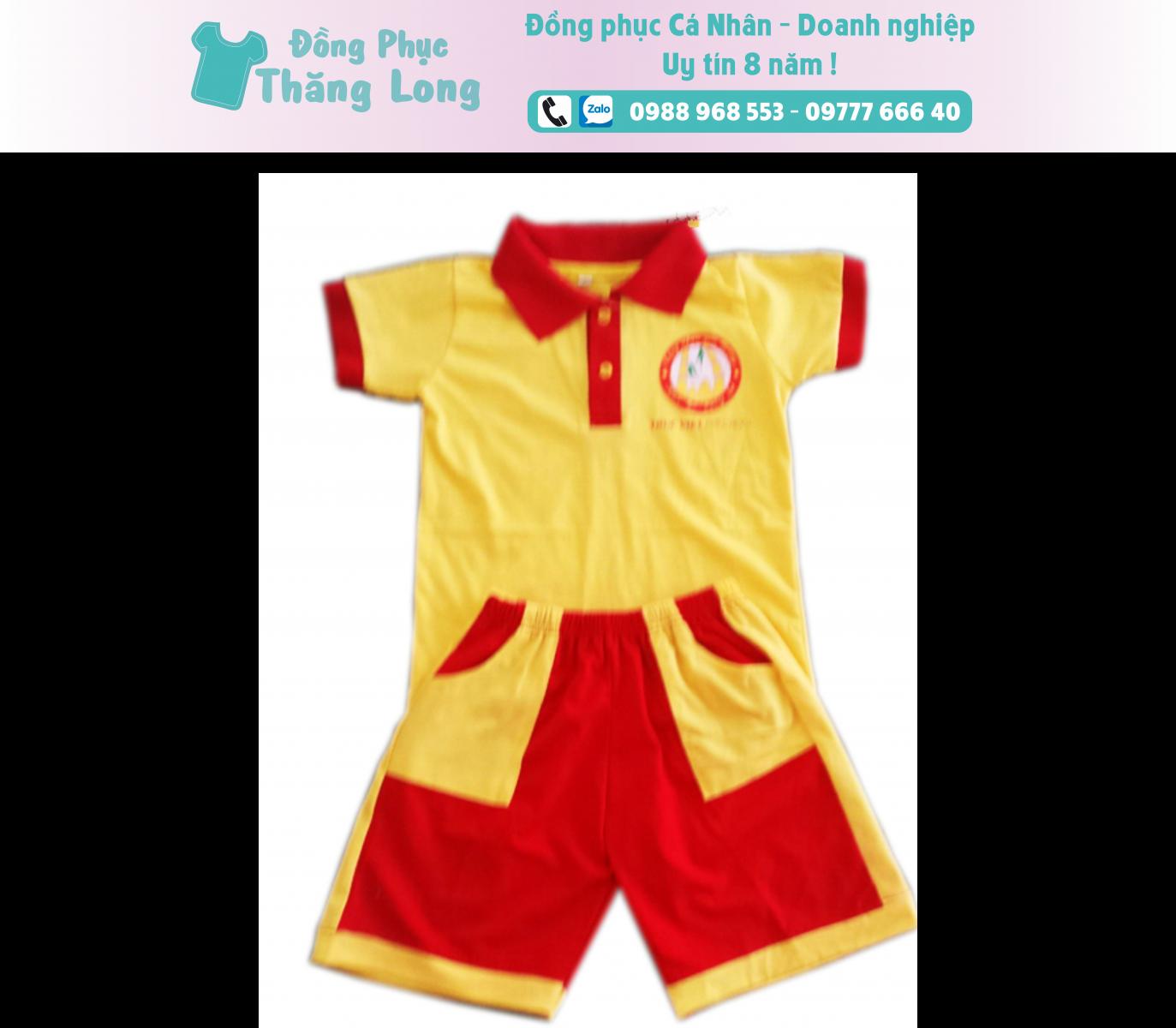 Đồng phục học sinh mẫu 008