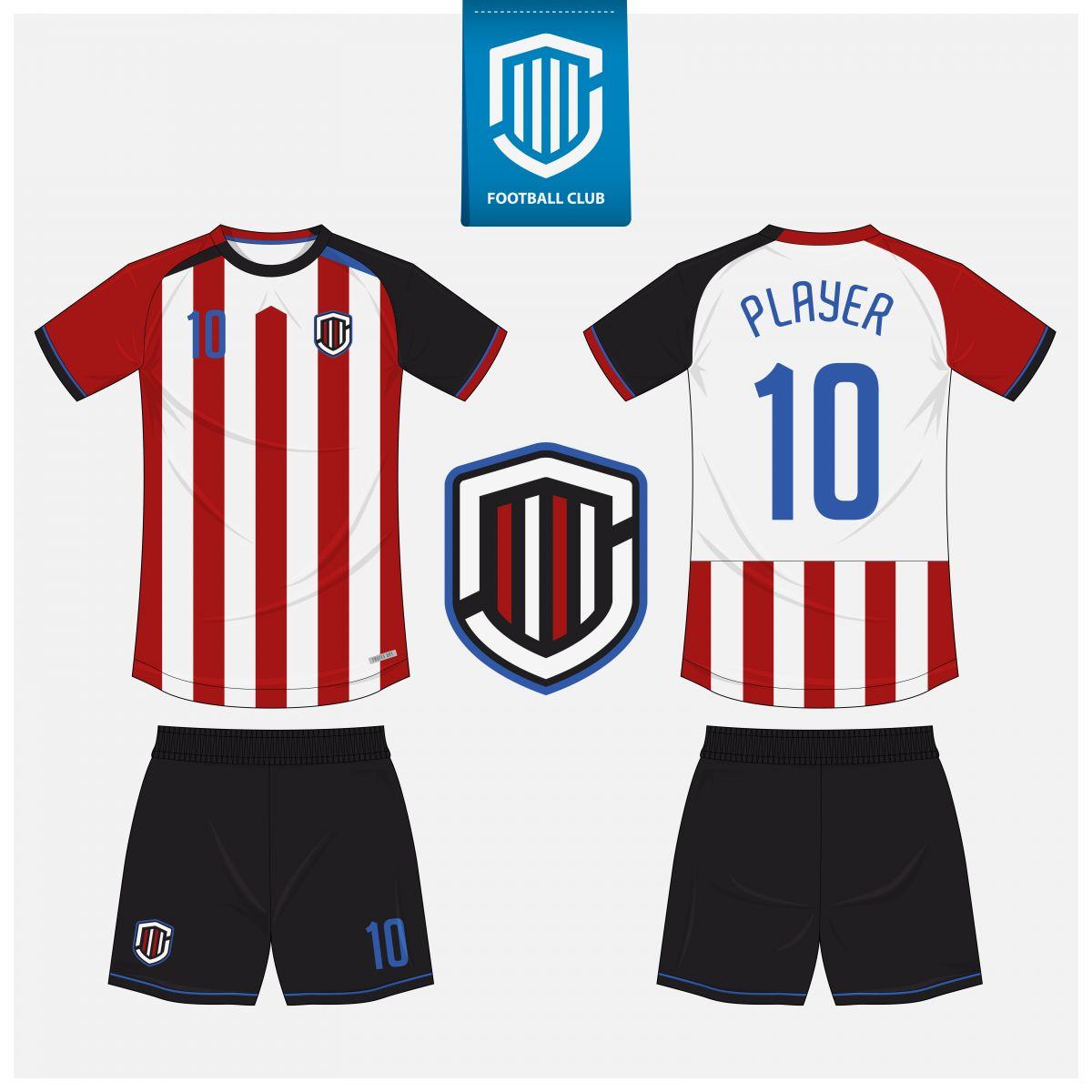 Áo bóng đá thiết kế theo yêu cầu mã số 0003