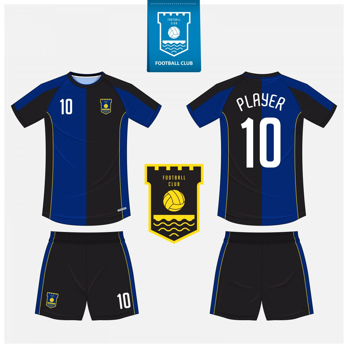 Áo bóng đá thiết kế theo yêu cầu mã số 0001