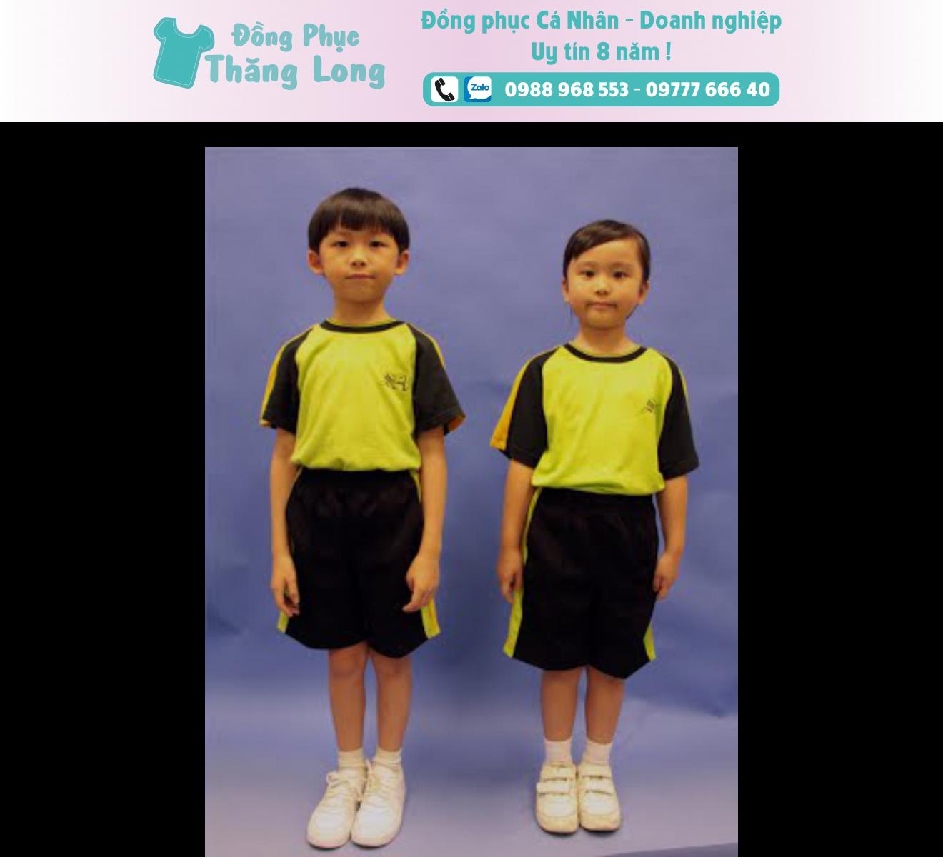 Đồng phục học sinh mẫu 006