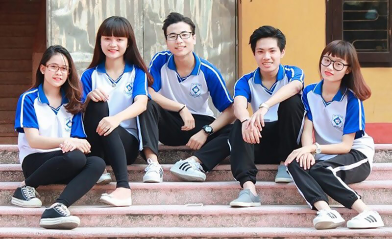 Đồng phục học sinh mẫu 010